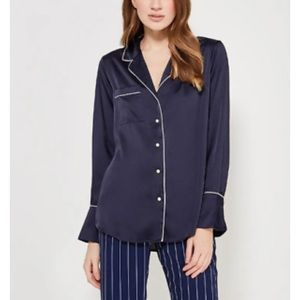 Banana Republic pajama style blouse